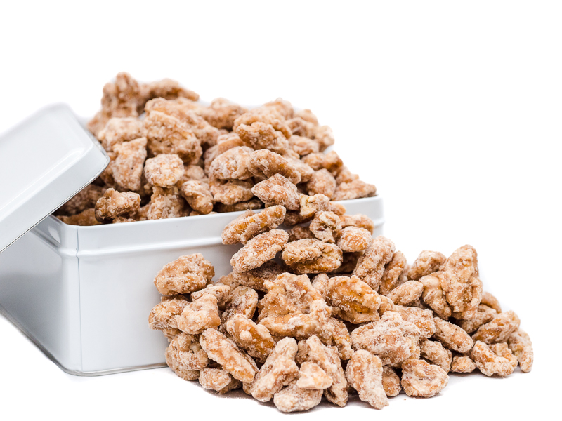 Laura's Cinnamon Sugar Coated Pecans