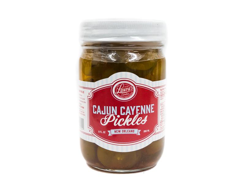 Laura's Cajun Cayenne Pickles