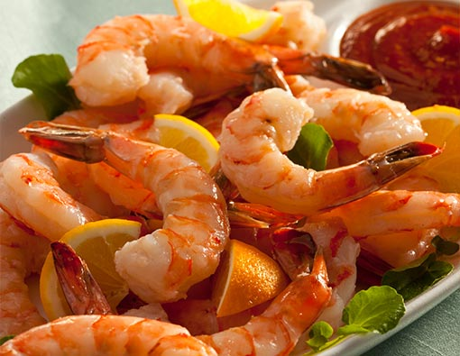 Jumbo Pre-Cooked Shrimp Cocktail (with Cocktail Sauce)