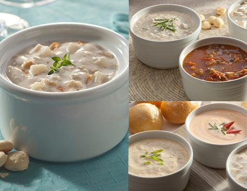Legal's Own Chowder and Soup Combo