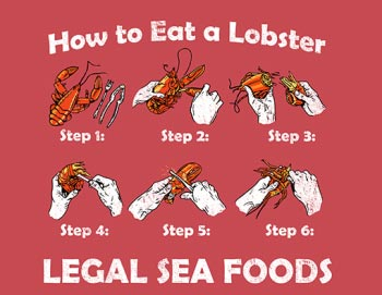 How To Eat a Lobster T-Shirt
