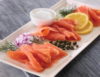 4 oz. Smoked Atlantic Salmon