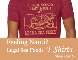 Legal Sea Food Tshirts