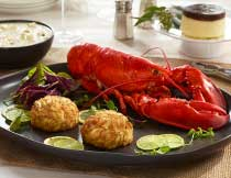 Complete Dinner for Four (1.25 lb. Lobsters)