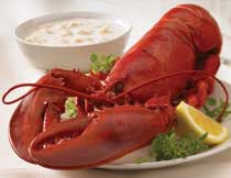 Lobster and Chowder for Two (1.25 lb. Lobsters)