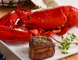 Lobster and Filet