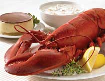 New England Feast for Two (1.25 lb. Lobsters)
