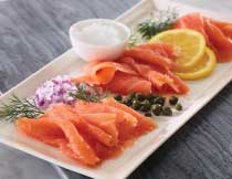 4 oz. Smoked Atlantic Salmon