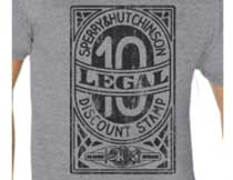 """""""Legal Stamp"""" T-Shirt- Size S"""