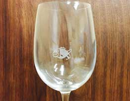 Freddie The Fish Wine Glasses