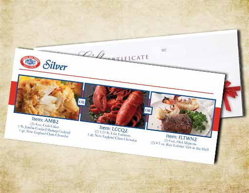 $125 Silver Gift Certificate
