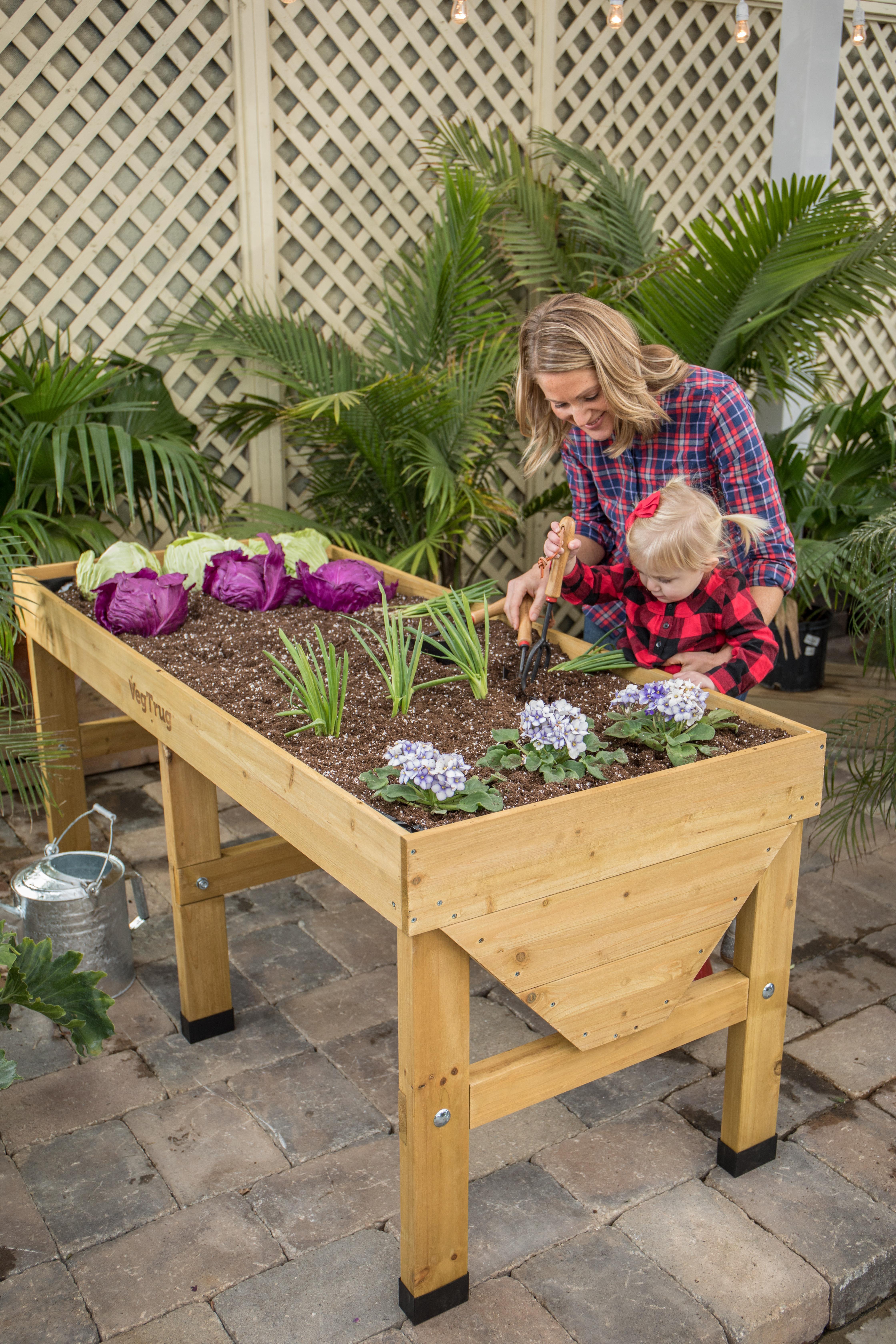 Jenna Gardening