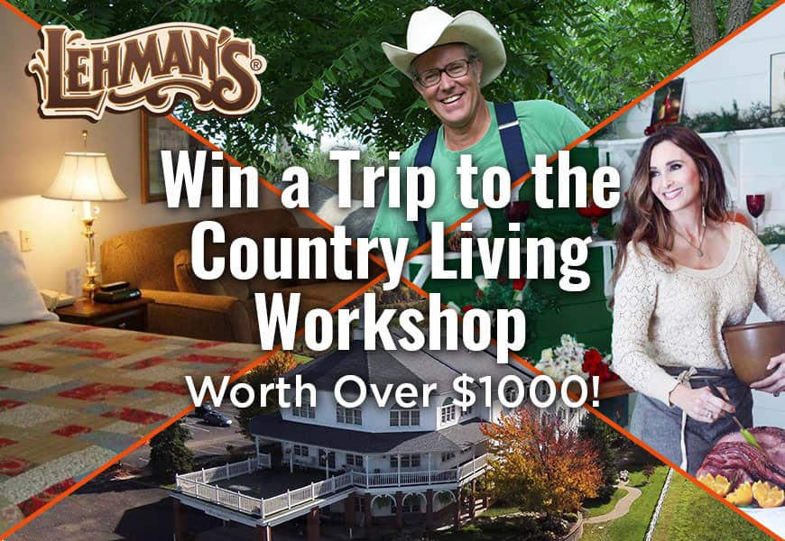 Win a Trip to the Country Living Workshop