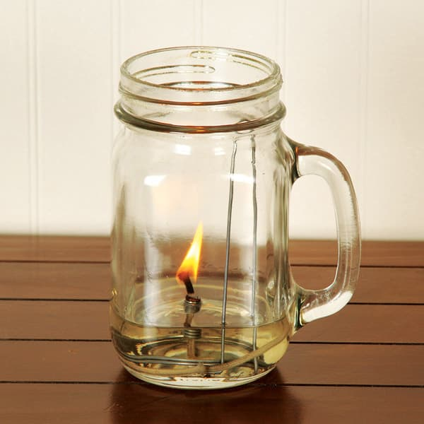 Olive Oil Lamps