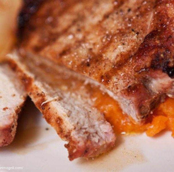 Garlic and Cinnamon Pork Loin Chops