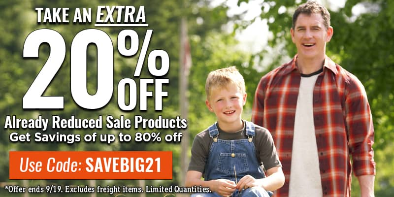 GET 20% Off ALREADY DISCOUNTED PRODUCTS