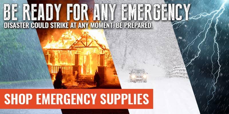 SHOP EMERGENCY SUPPLIES