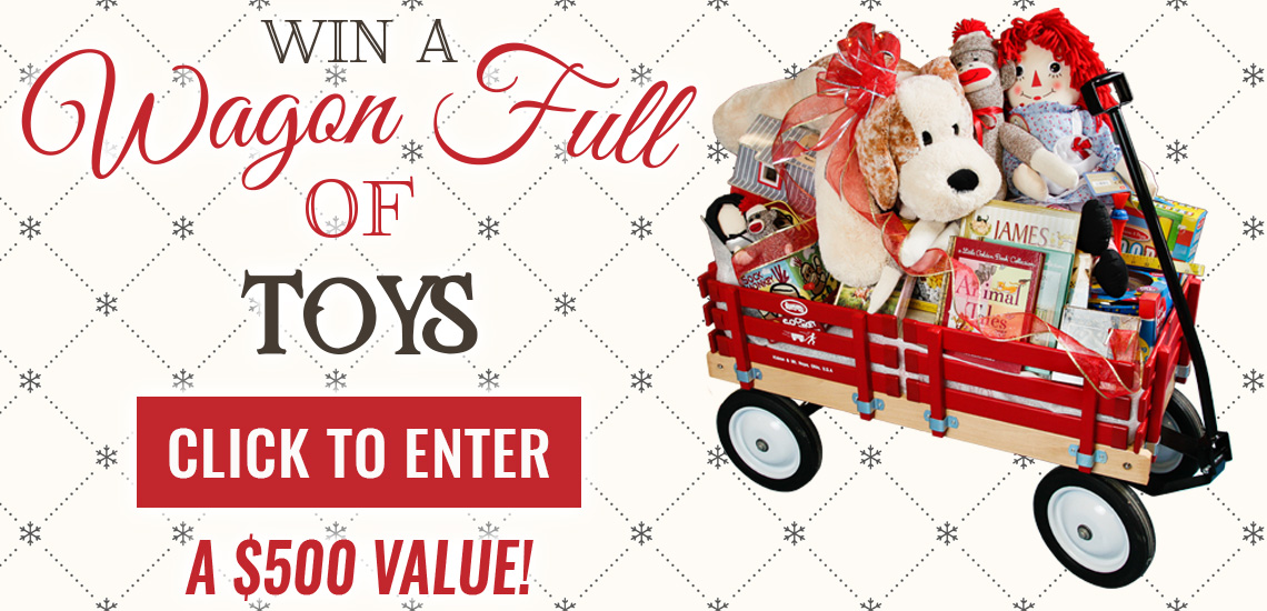 Win a Wagon Full of Toys