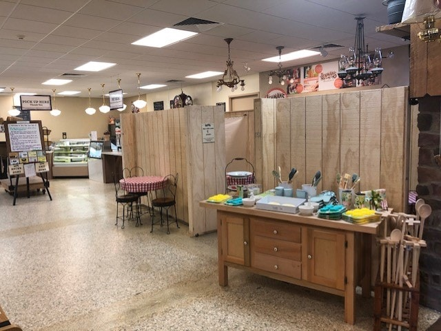 Enjoy a meal or rest a minute while shopping in our Café, where we have installed safety measures