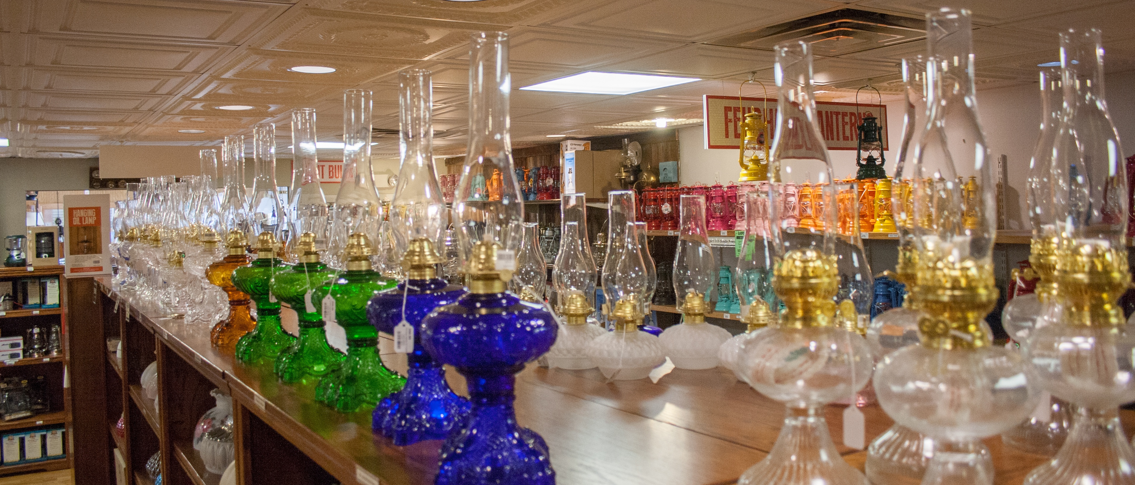 Lamps Department