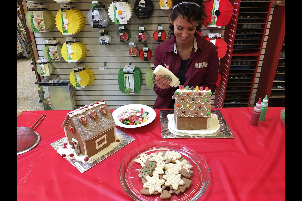 Lehman's employees, much like our customers, love to bake and create.