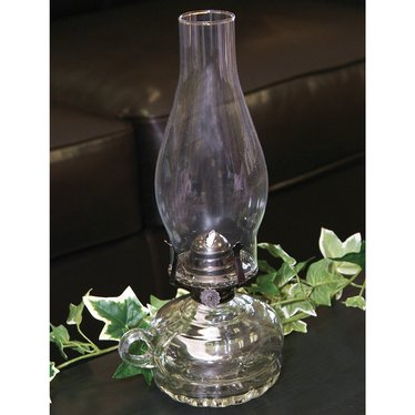 Old-Style Chamber Oil Lamp