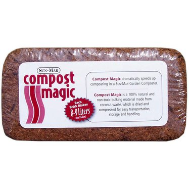 Compost Magic Brick for Garden Composter
