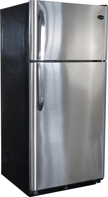 Diamond Elite (19 cu ft) Gas Refrigerators - Stainless