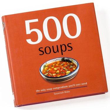 500 Soups Book