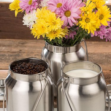 Stainless Steel Milk Can - 1 Gallon