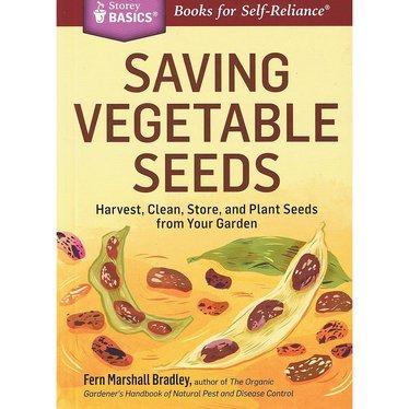 Saving Vegetable Seeds Book