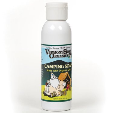 Organic Camping Soap