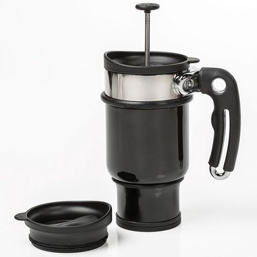 Double Shot French Press Mug