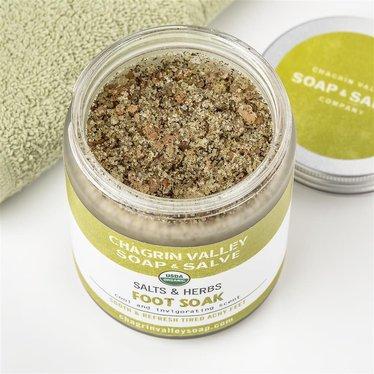 Salts & Herbs Foot Soak