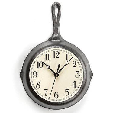 Cast Iron Skillet Clock