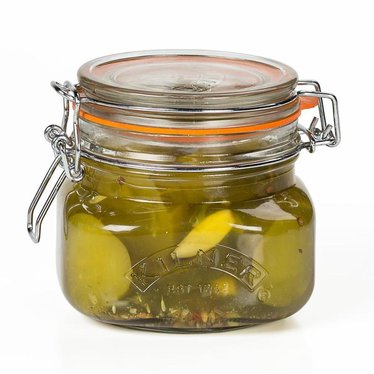 Kilner Square Clip-Top Jars 16 oz.