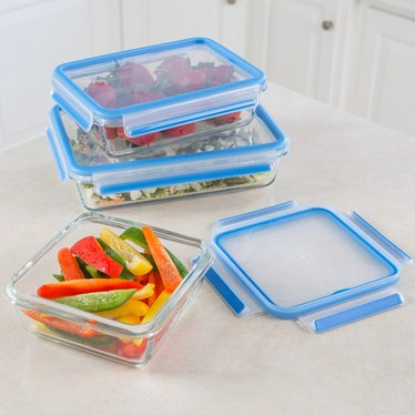 Glass Storage Container 6-Piece Set