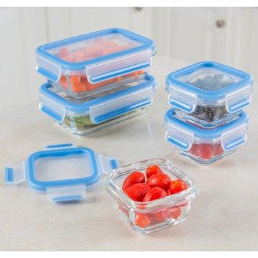 Glass Storage Container 10-Piece Set