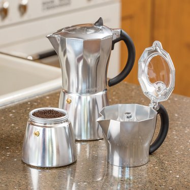 Italian-Style Stovetop Coffee Maker