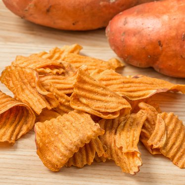 Sweet Potato Chips with Sea Salt