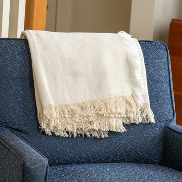 Chevron Chenille Throw