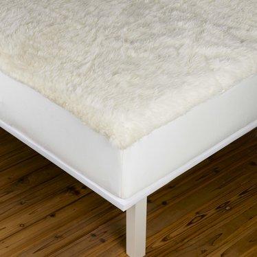 Reversible Wool Mattress Pad