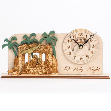 O' Holy Night Clock