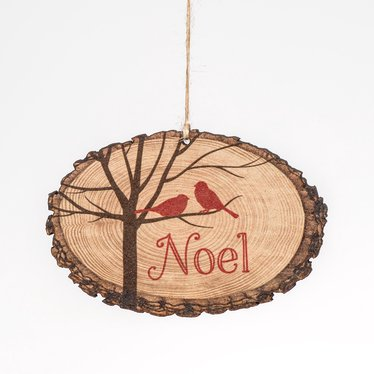 Noel Log Ornament