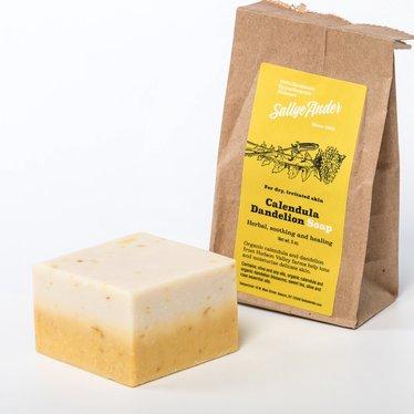 Natural Calendula Dandelion Soap