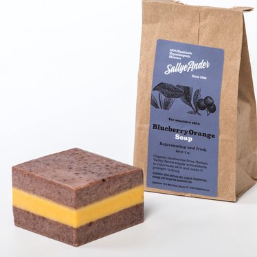 Natural Blueberry Orange Soap