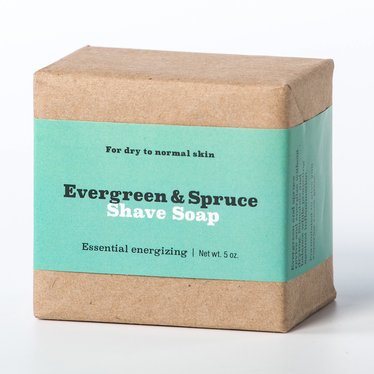 Natural Evergreen and Spruce Shaving Soap