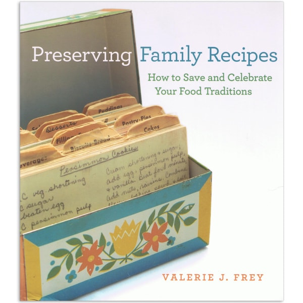 Preserving Family Recipes Book