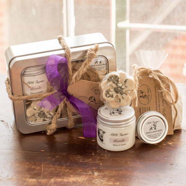 Lavender Spa Experience Bath Tin With Cuticle Balm
