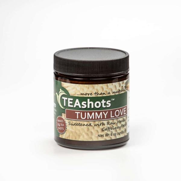 Tummy Love Teashots with Raw Honey